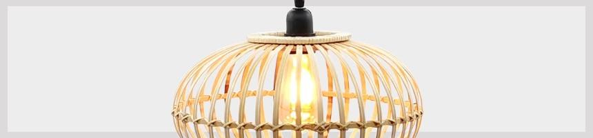 Lampe Bambou ou Mosaïque   Lumière naturelle, douce ou d'ambiance