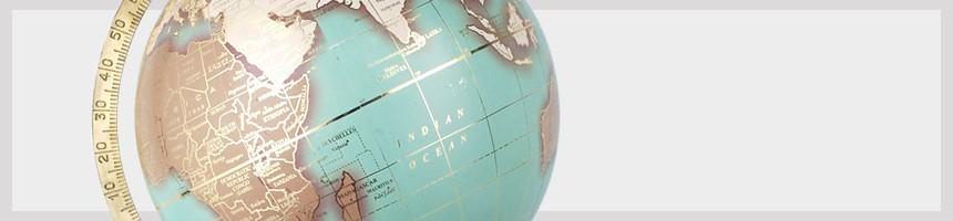 Mappe Monde Rétro   Globe terrestre sur pied déco Vintage