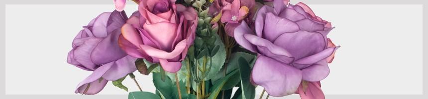 Fleurs artificielles | Plantes Décoration une touche de couleur
